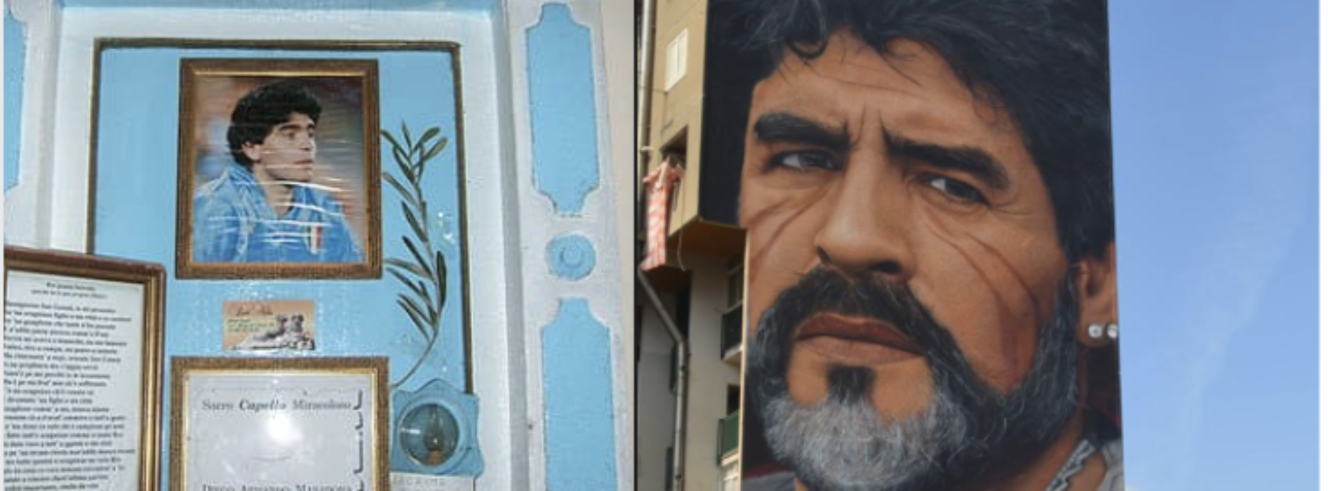Mano de Dios, l'immagine di Maradona un'icona pop mondiale