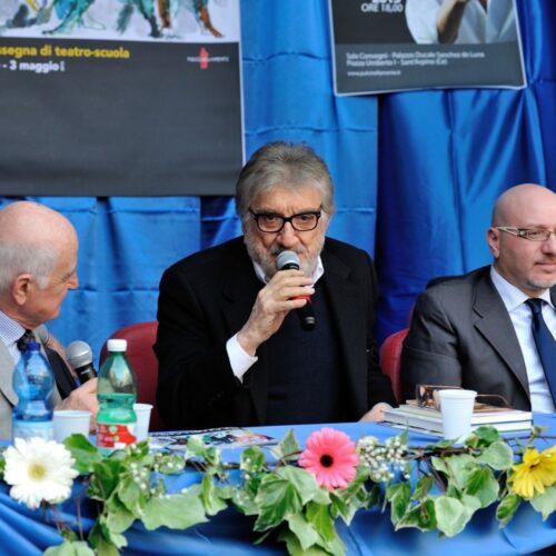 Ciao, maestro! Gigi Proietti fu protagonista in terra casertana