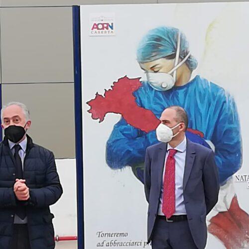 Aorn Caserta, domenica prime cento vaccinazioni anti-Covid