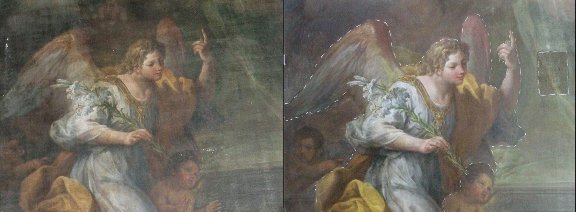 "C'è Intesa, ""restituita"" l'Annunciazione di Sebastiano Conca"
