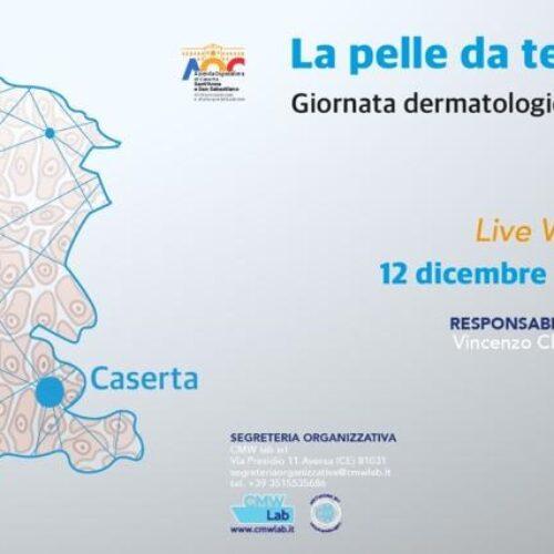 La pelle da territorio a rete, giornata dermatologica casertana