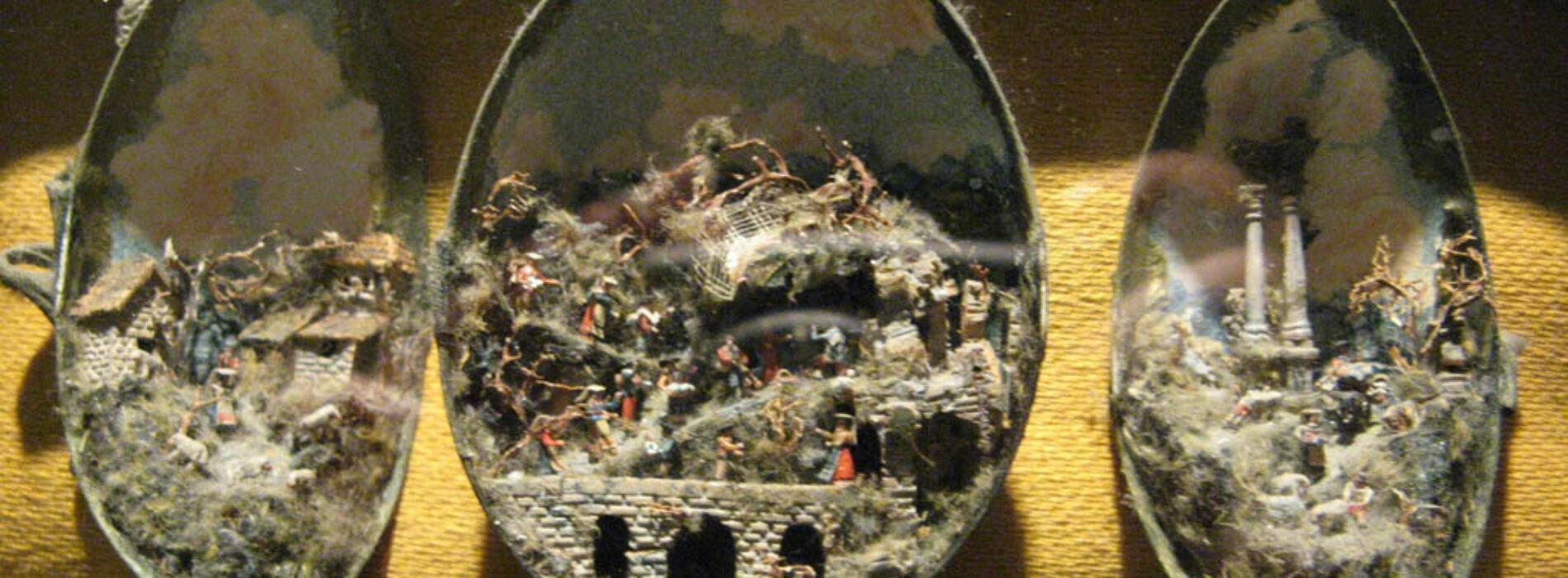 Uovo di Natale, il presepe in guscio alla Certosa di San Martino