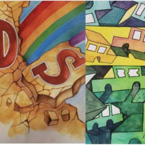 Non solo Covid-19, Vaccaro e Del Gaudio artisti contro l'Aids