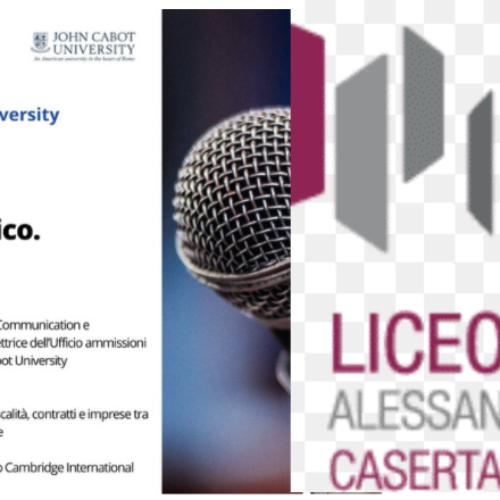 Liceo Manzoni. Lezione di Public speaking, tecniche e strategie