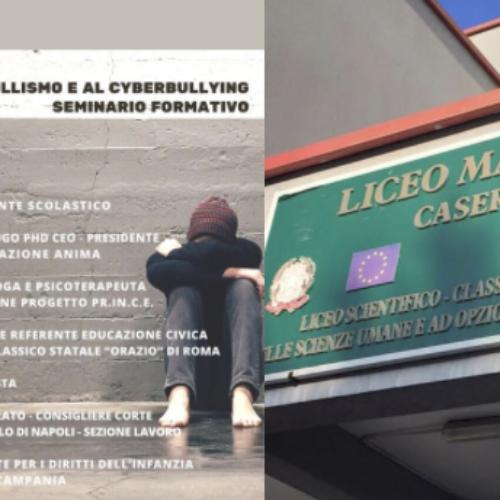 Bullismo e cyberbullismo, il seminario formativo del Manzoni
