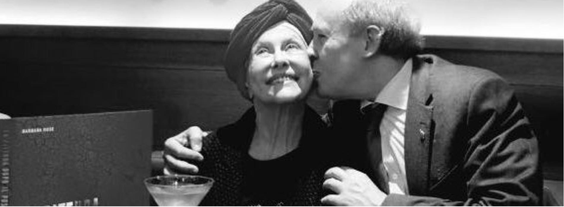 Barbara Rose, il ricordo della sacerdotessa dell'arte a Caserta
