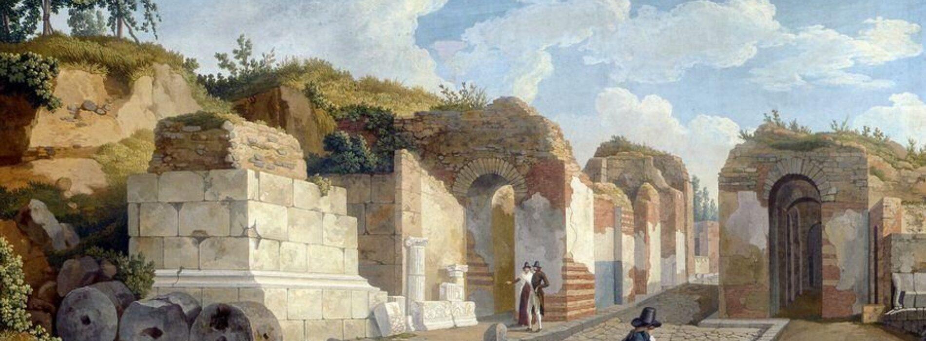Il fascino di Pompei, oggi e nei quadri di Jacob Philipp Hackert
