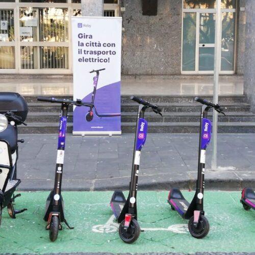 Caserta, al via da oggi il servizio di mobilità condivisa Reby