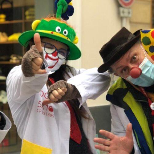 Sunday Clown, in strada con i professionisti del sorriso