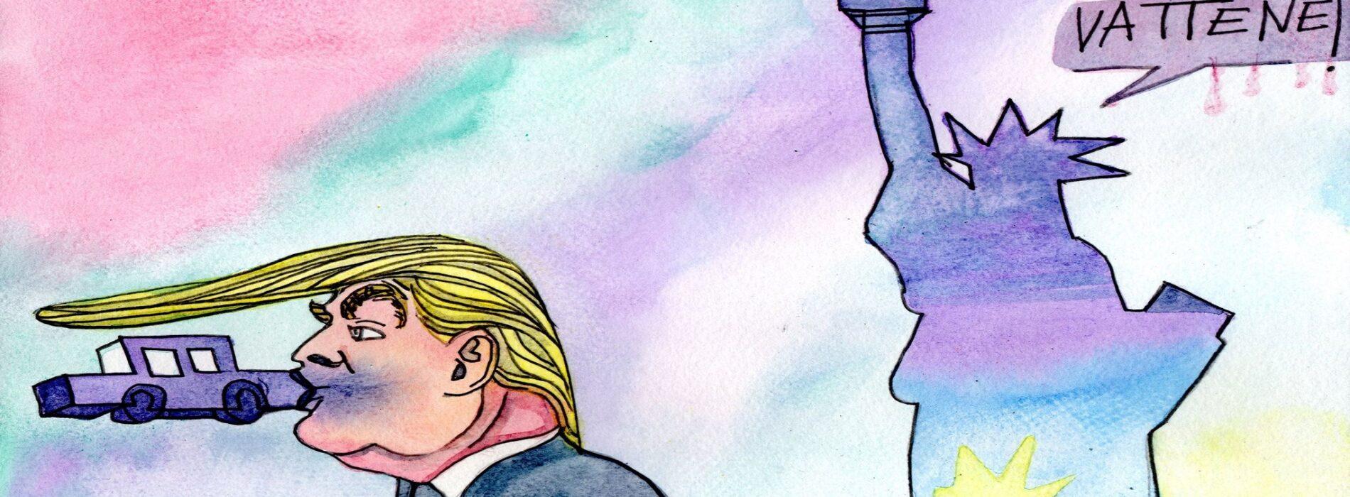 Assalto a Washington, Caserta condanna l'arroganza di Trump