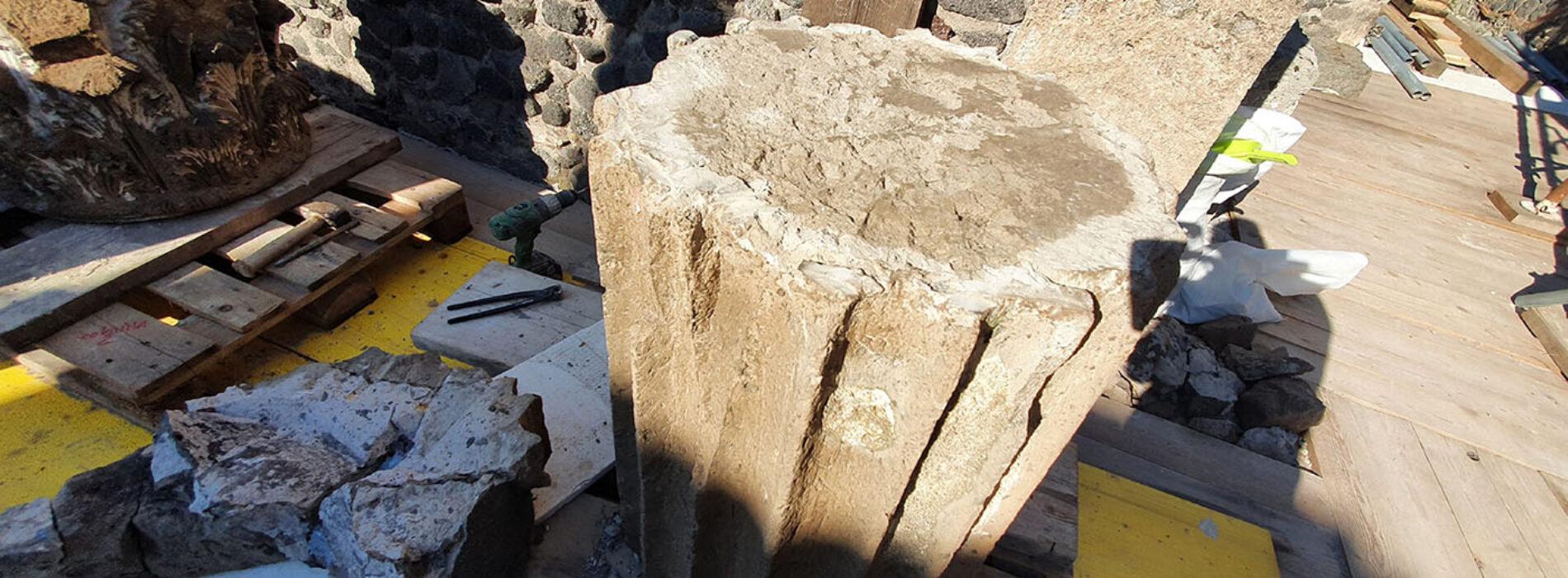 Giù tubi e impalcature, è ora libera la Casa del Fauno a Pompei