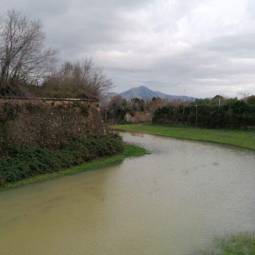 L'allagamento dei fossati di Capua, la città si immerge nel 500