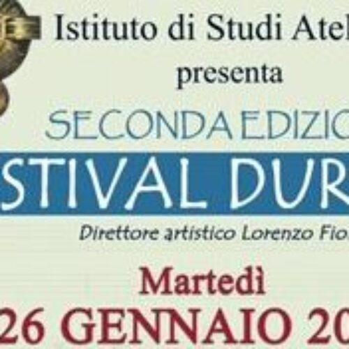 Festival Durante, i suoi direttori artistici si incontrano online