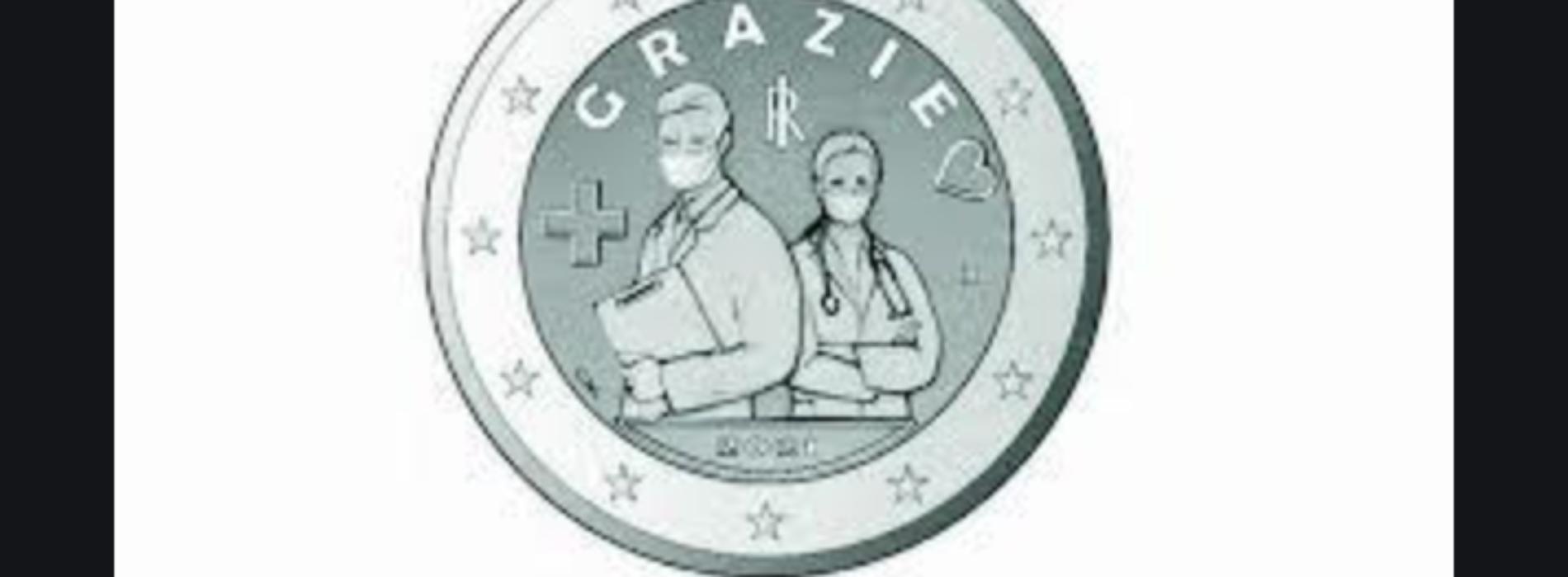 Nuovo conio, si fa moneta sonante il ringraziamento ai sanitari
