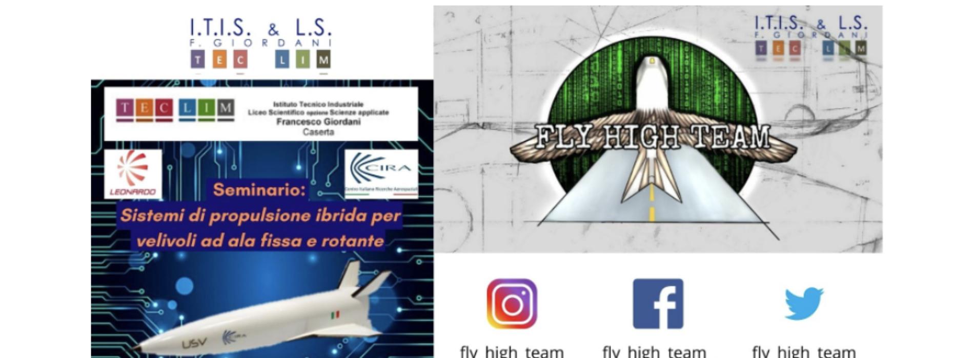 Caserta. L'Istituto Giordani vola alto con il Fly High Team