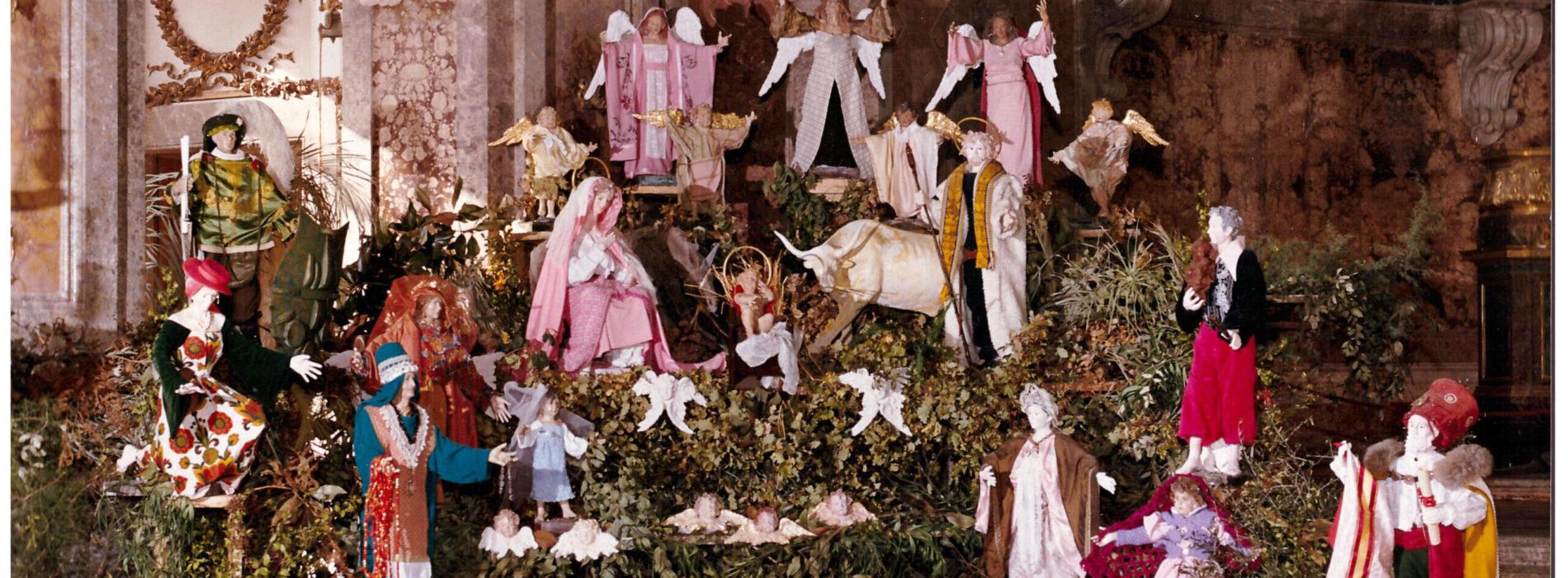 C'era una volta il Natale alla Reggia, anni di mostre presepiali