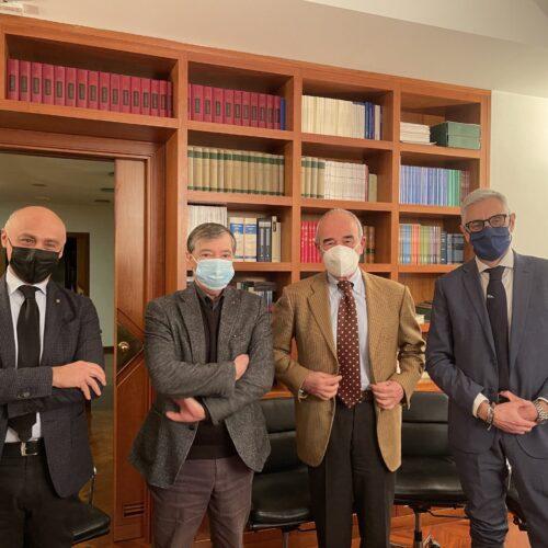 Ordini. Le professioni legali incontrano il presidente Quaranta