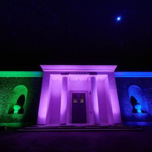 Giornata Malattie Rare, luci accese all'Antiquarium di Pompei