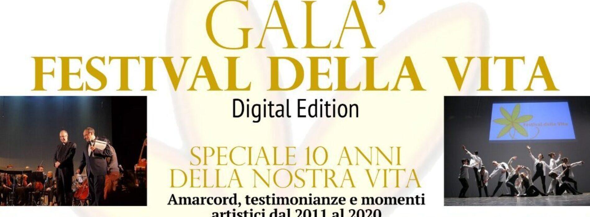 Festival della Vita, la decima edizione sarà in digitale