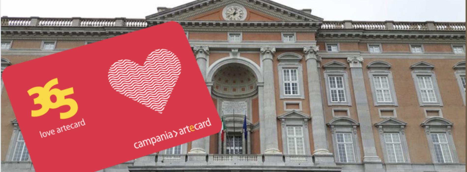 Artecard 365 Love, il pass a prezzo speciale per San Valentino