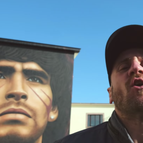 Il tributo di Caserta a Maradona, la canzone e il video degli Rfc