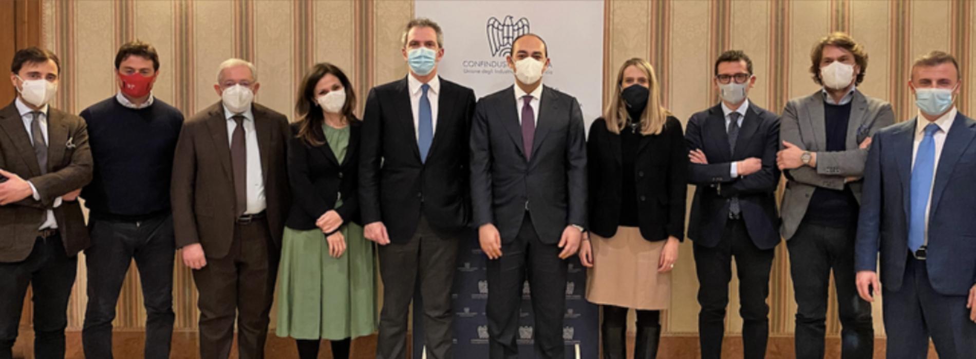 Confindustria, il neopresidente Schiavone presenta la squadra
