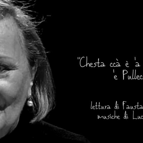 Fausta Vetere, voce meravigliosa per un racconto meraviglioso