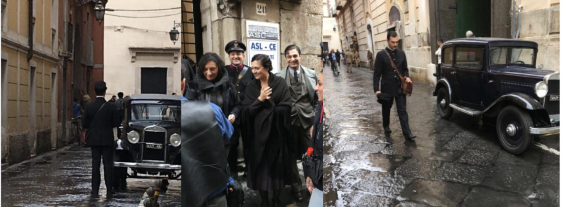 Il commissario Ricciardi, passeggiata cinematografica a Capua