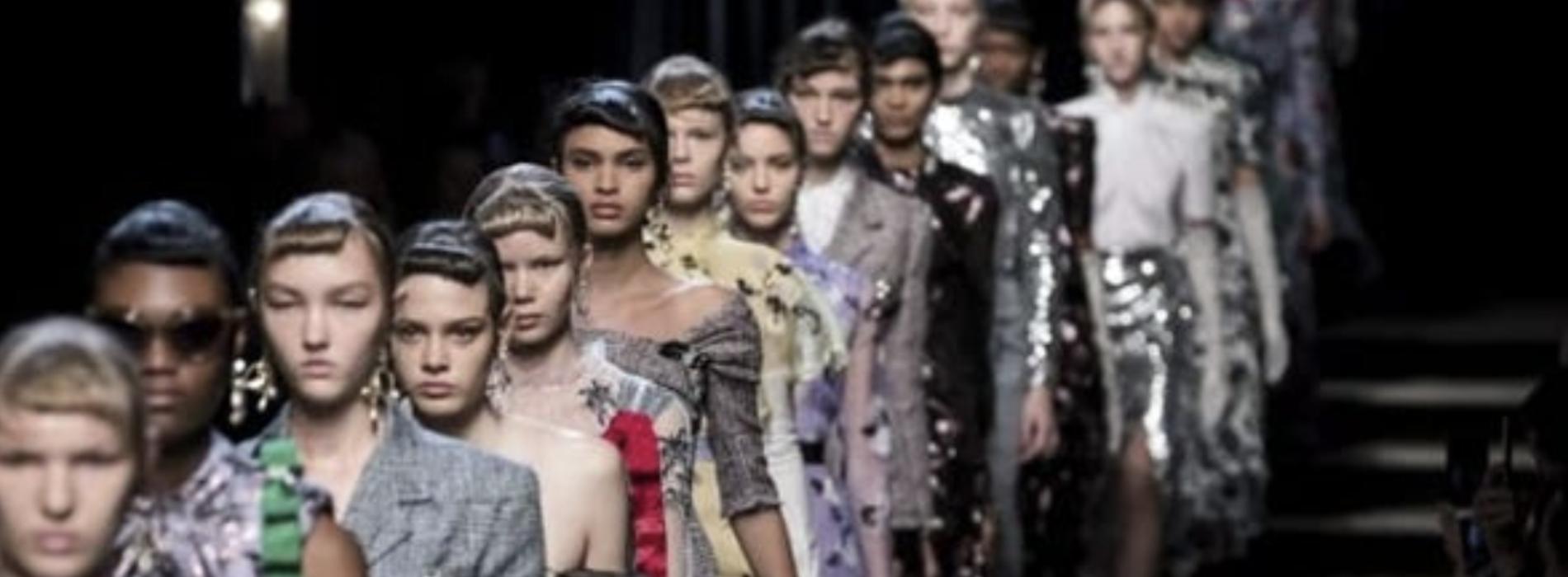 Da Caserta a Milano per la Fashion Week, ma è digital edition