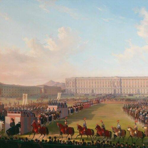Cavalieri al Carnevale, nel 1846 il Torneo davanti alla Reggia