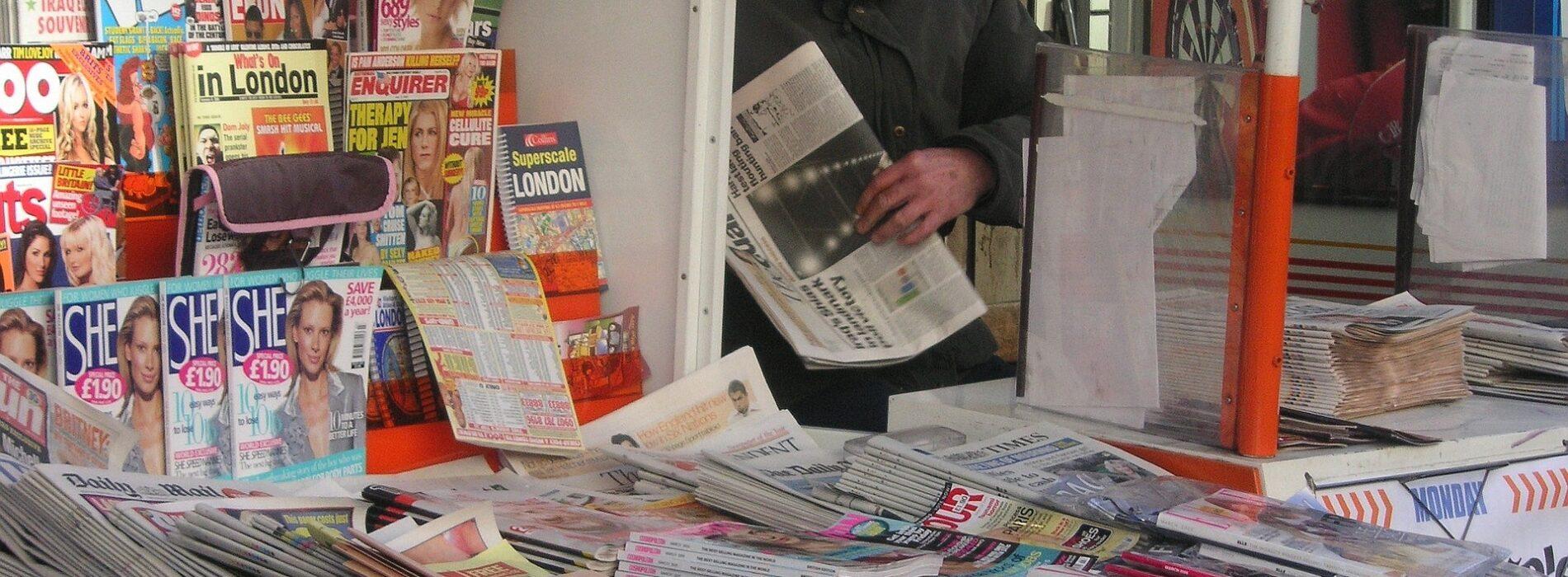 Caserta, in edicola il giornale ma anche i certificati anagrafici