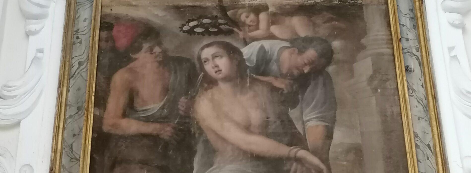 Sant'Apollonia patrona dei dentisti, le raffigurazioni casertane