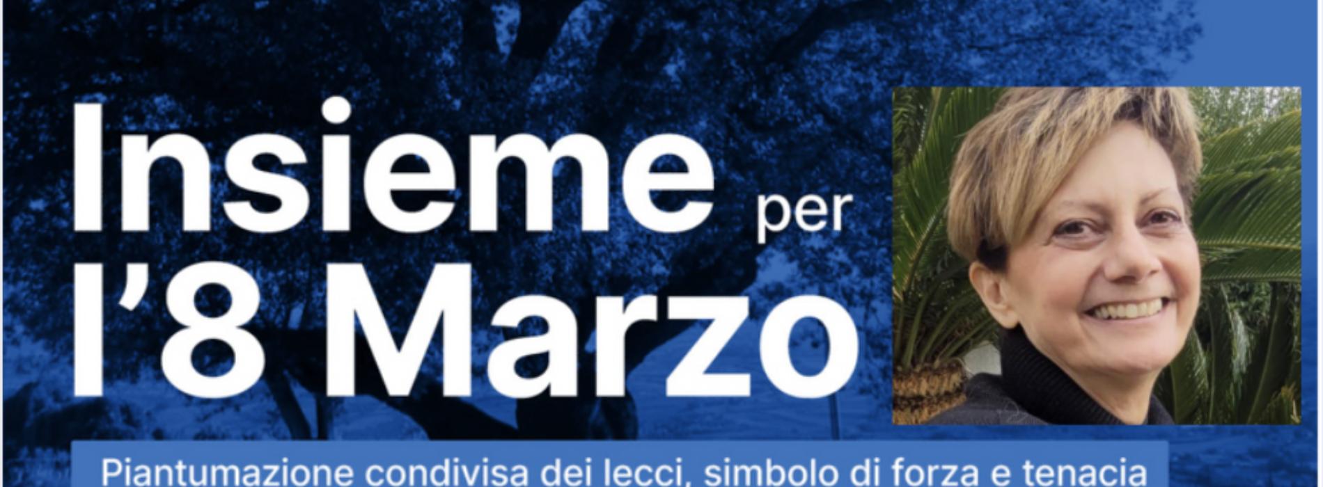Otto marzo, lecci per la consigliera di parità Rosaria Calabrese