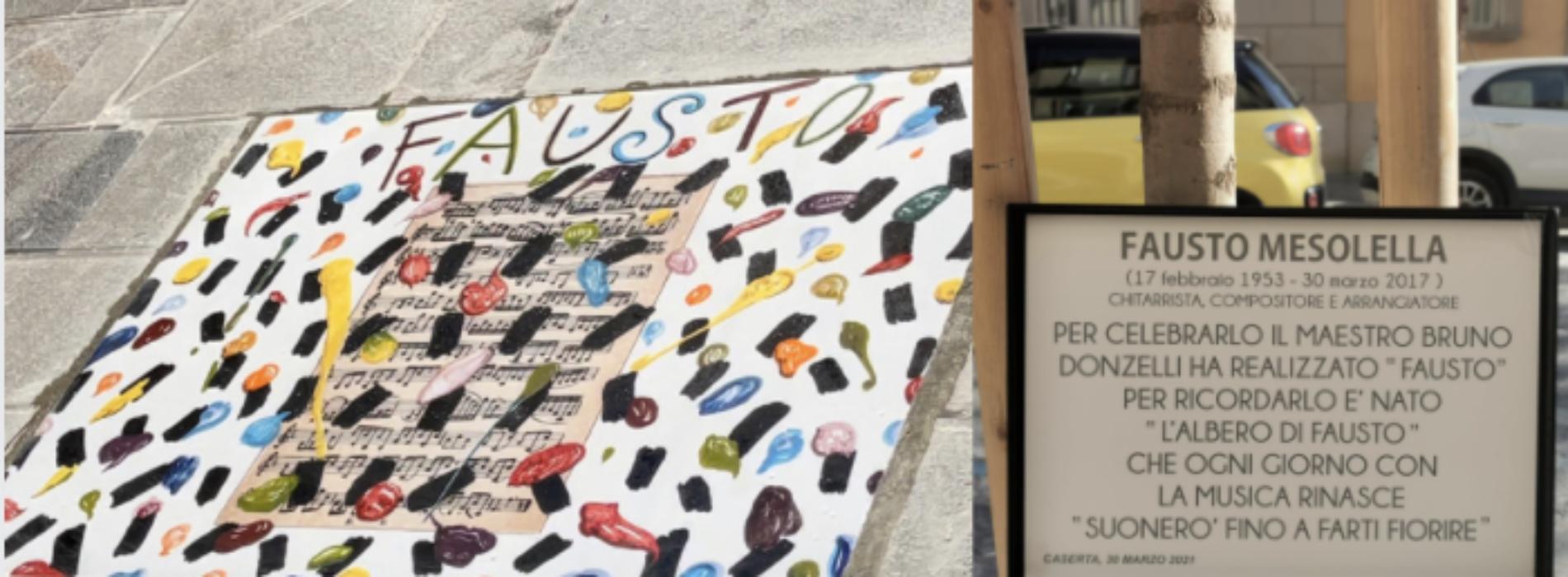 La strada dell'arte, tributo di Bruno Donzelli a Fausto Mesolella
