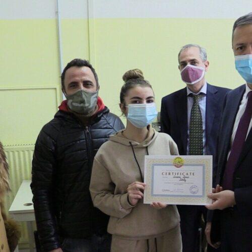 San Leucio high school, in visita l'ambasciatore dell'Uzbekistan