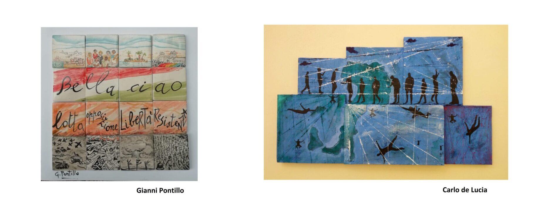 LiberAzione-21, l'art tribute di Gianni Pontillo e Carlo de Lucia