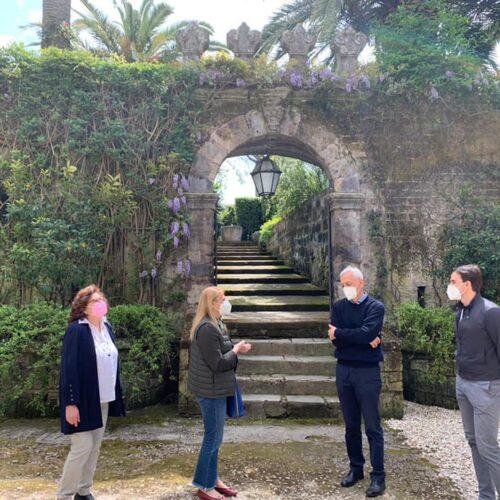 Caserta, Palazzo Cocozza a Casolla. Visita dell'associazione Premio GreenCare