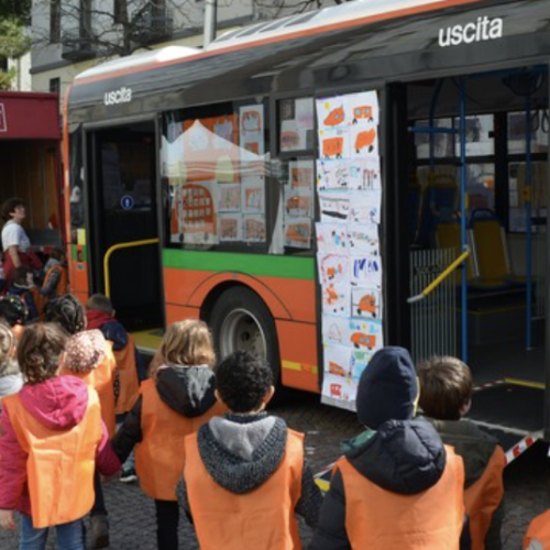 Green Caserta, trasporto scolastico sostenibile in bus elettrico