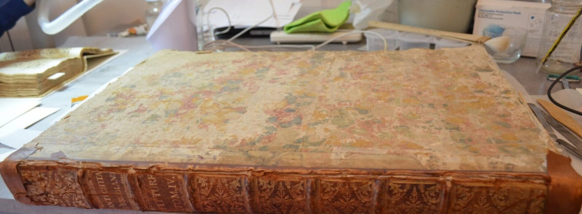 Gli scavi narrati nei libri, a Ercolano tornano i preziosi volumi