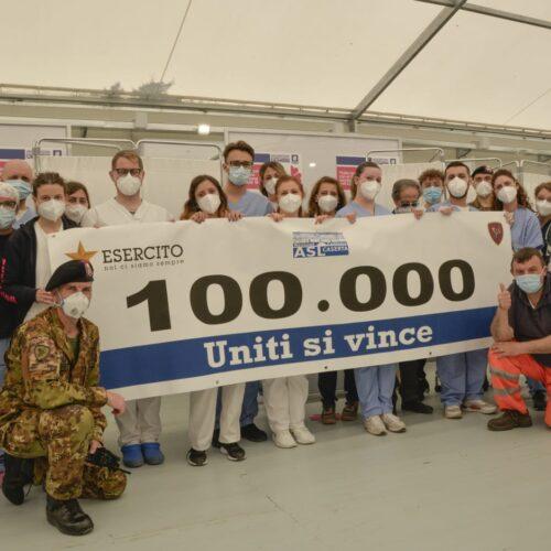 Vaccinazioni a quota centomila, va veloce la Brigata Garibaldi