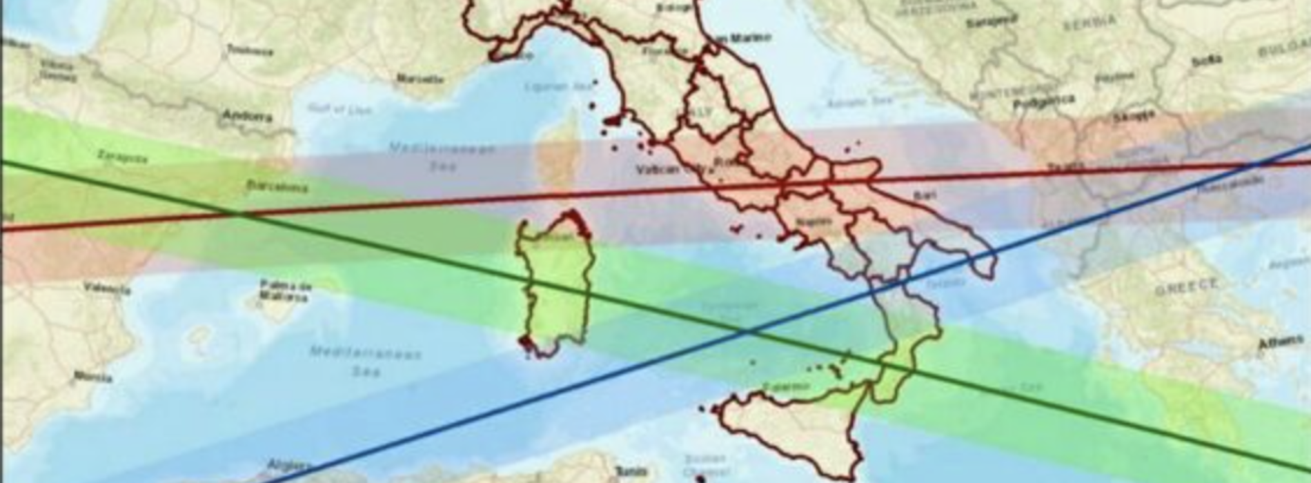 Razzo cinese, allerta della Protezione civile anche in Campania