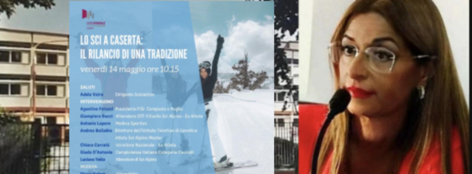 Caserta sugli sci, il protocollo d'intesa tra liceo Manzoni e Fisi
