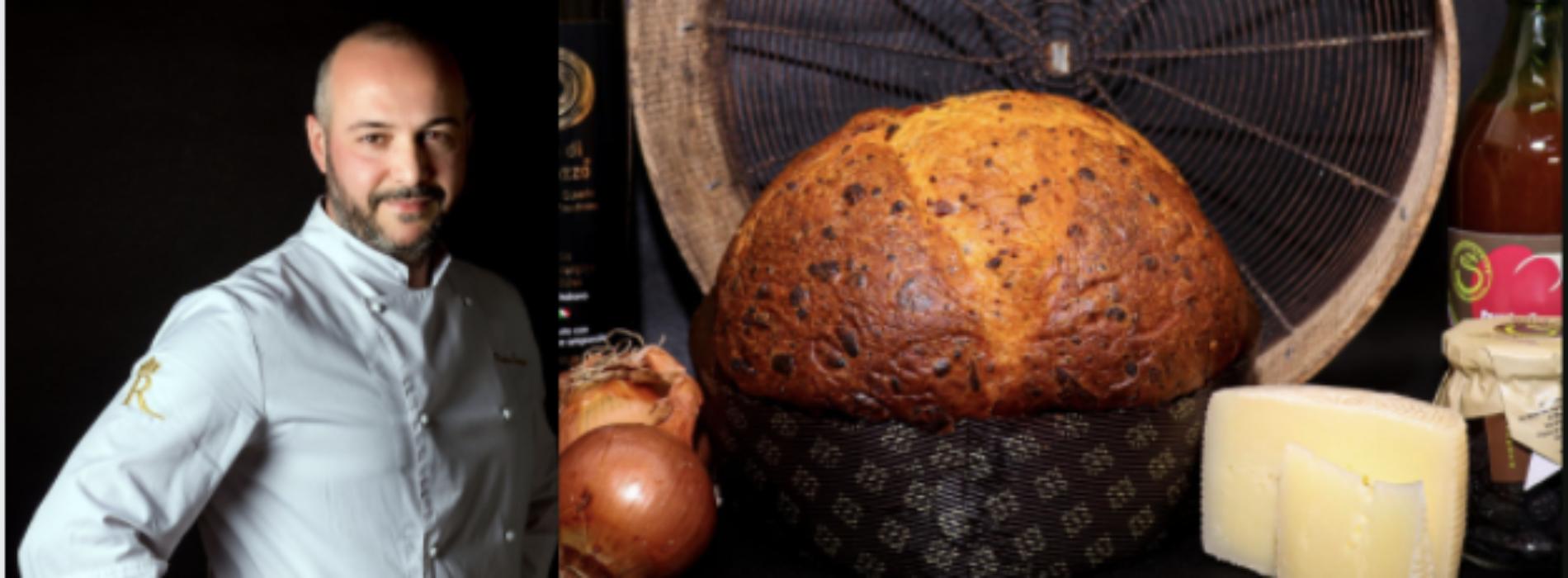 Il pan ruralis di Pietro Sparago, un panettone salato e vincente