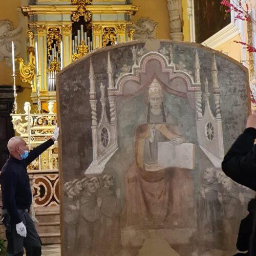 Da Casaluce a Forlì,  Celestino V in viaggio per ritrovare Dante