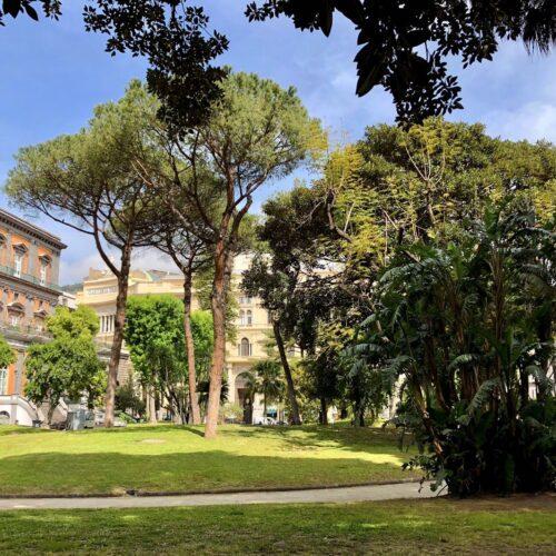 Palazzo Reale di Napoli, i giardini ora si vestono di nuovi colori