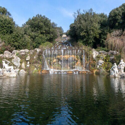 Restauro al Parco della Reggia, new look per Diana e Atteone