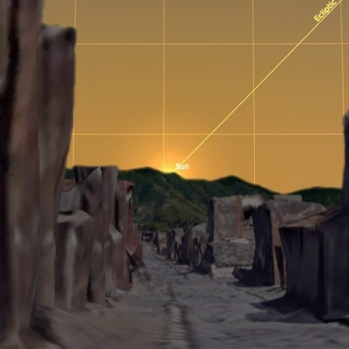 Solstizio d'Estate a Pompei, lo spettacolo del sole tra gli scavi