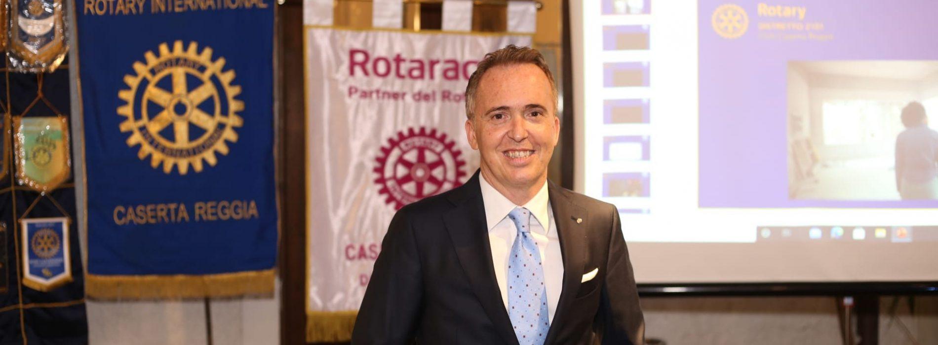 Fabio Equitani, nuovo presidente per il Rotary Caserta Reggia