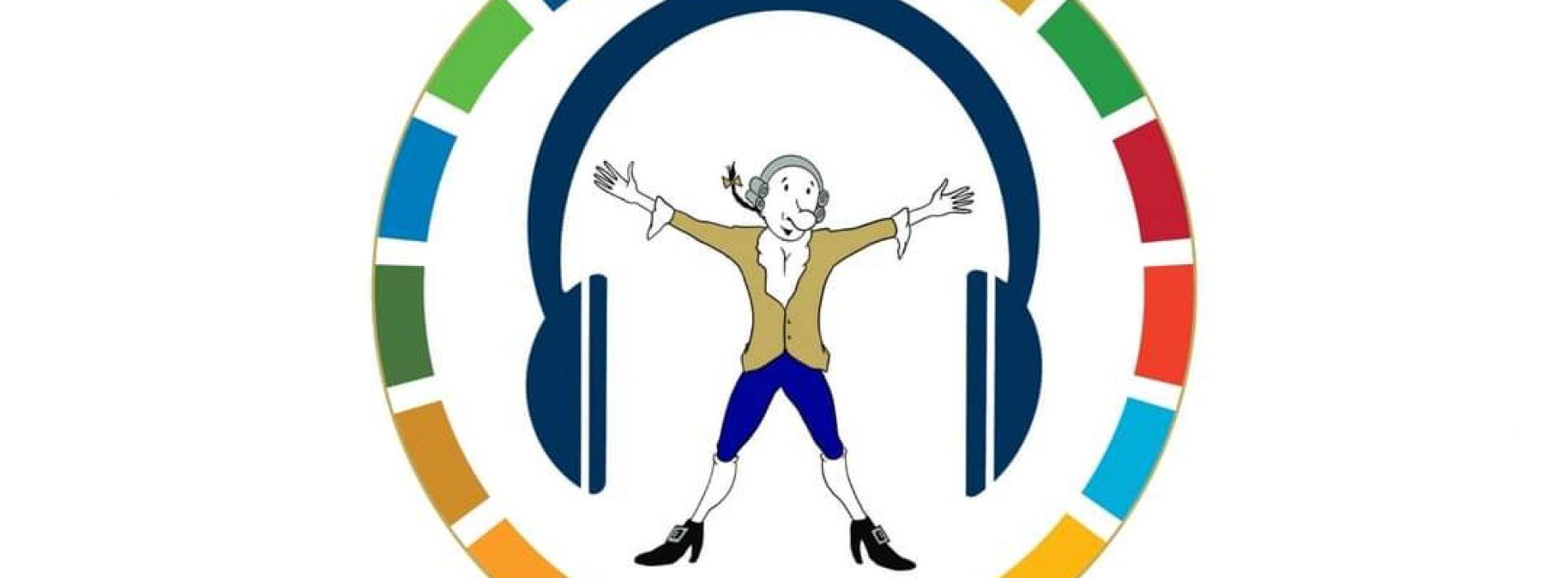 Reggia, Re Carlo e Menino nelle audioguide per i bambini