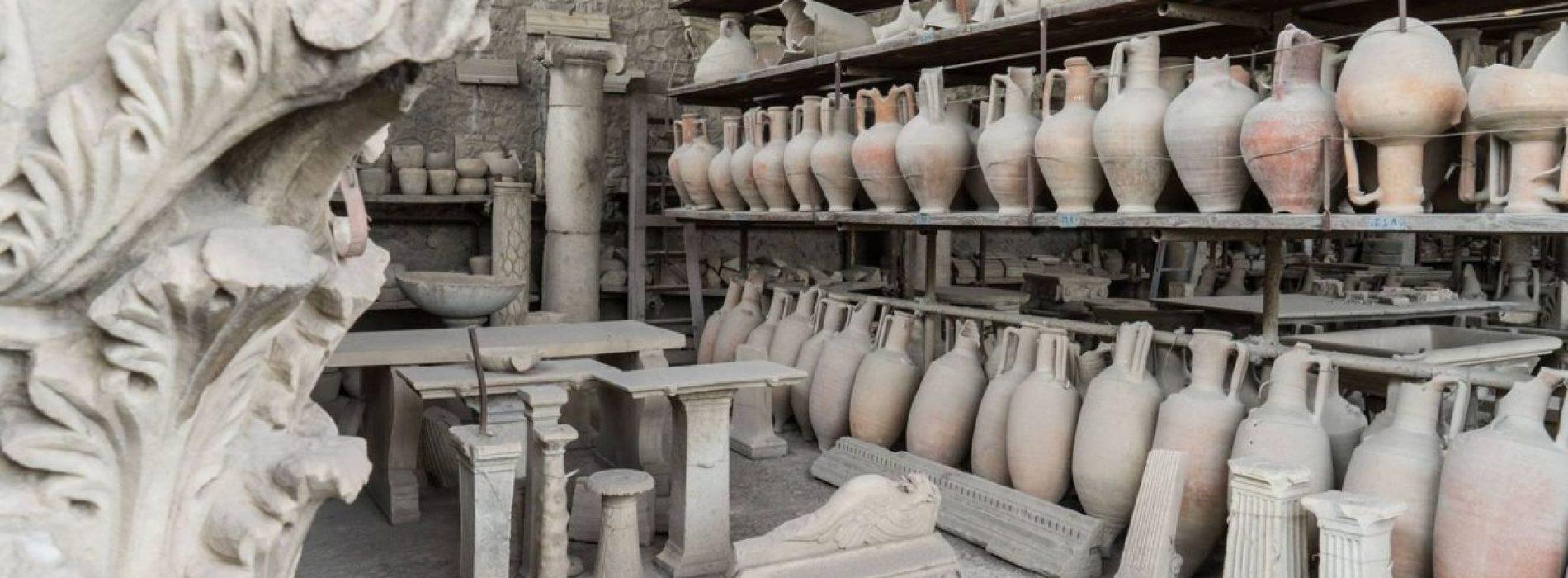 Aprono i Granai del Foro a Pompei, visite estive di mercoledì